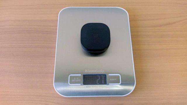 SoundPEATS「TrueAir2」の充電ケース重量