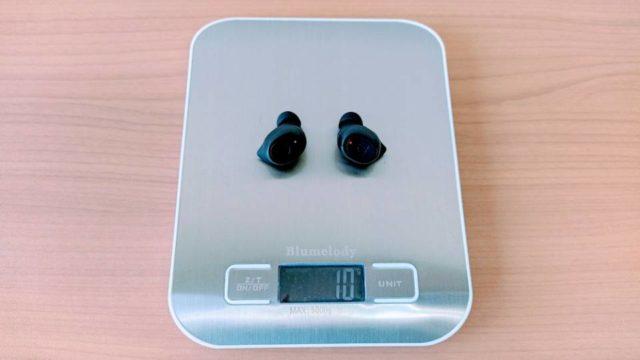 SoundPEATS「TrueFree 2」の本体重量
