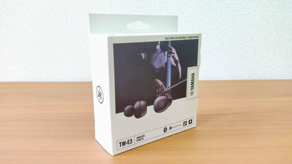 ヤマハ「TW-E3A」の外箱