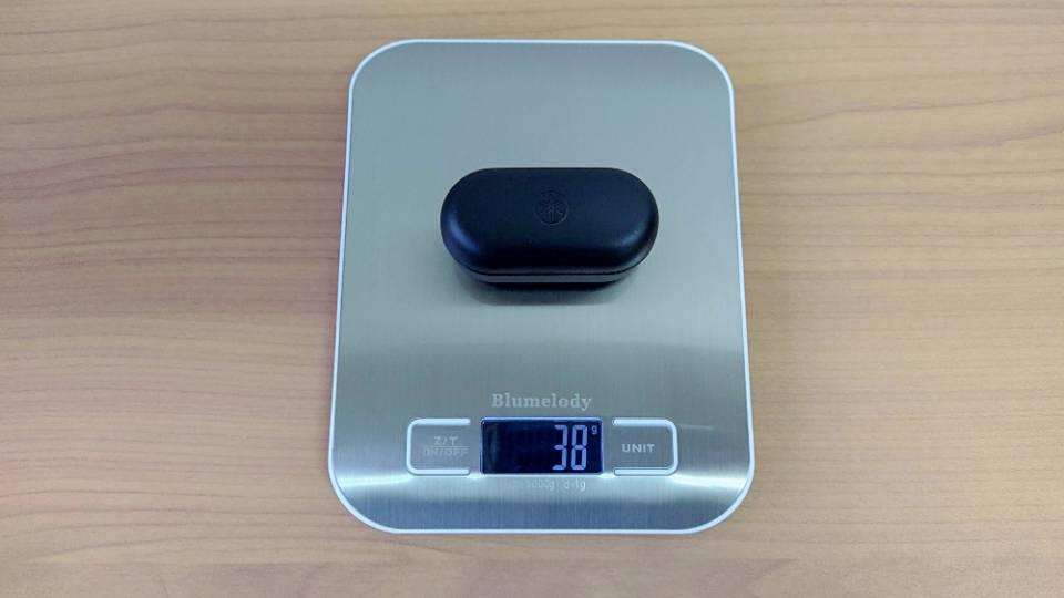 ヤマハ「TW-E3A」の充電ケース重量