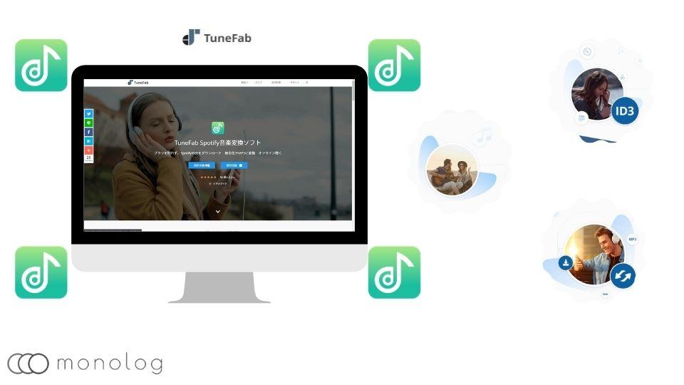 「TuneFab Spotify音楽変換ソフト」とは?