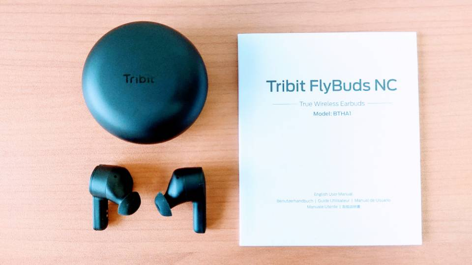Tribit「FlyBuds NC」のスペック